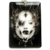 "Украшения handmade. Livemaster - original item Transparent pendant ""Dream"" Jewelry resin. Handmade."
