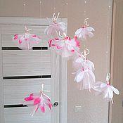 Для дома и интерьера ручной работы. Ярмарка Мастеров - ручная работа Мобиль Балерины. Handmade.