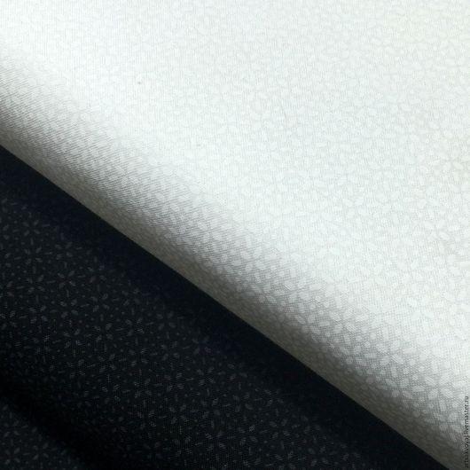 """Шитье ручной работы. Ярмарка Мастеров - ручная работа. Купить Ткани """"Белое на белом"""" и """"Чёрное на чёрном"""", Riley Blake. Handmade."""