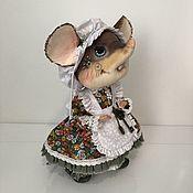 Игрушки ручной работы. Ярмарка Мастеров - ручная работа Игрушки: Мышь. Handmade.