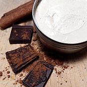 Косметика ручной работы. Ярмарка Мастеров - ручная работа Крем для тела шоколадный. Крем с кофеином и настоящим шоколадом. Handmade.
