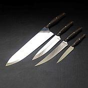 Для дома и интерьера handmade. Livemaster - original item A set of kitchen knives. Handmade.