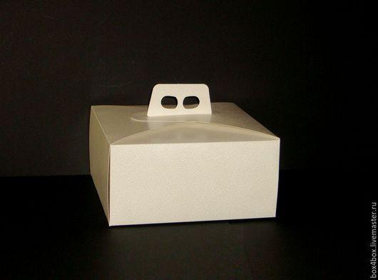 Упаковка ручной работы. Ярмарка Мастеров - ручная работа. Купить Коробки для тортов. Handmade. Белый, упаковка, упаковка для подарка