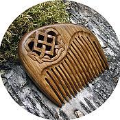 Русский стиль handmade. Livemaster - original item Comb wooden MAKOSH. Handmade.