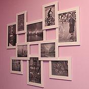 Сувениры и подарки ручной работы. Ярмарка Мастеров - ручная работа Мультирамка/рамка для фотографий. Handmade.