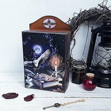 Для дома и интерьера ручной работы. Ярмарка Мастеров - ручная работа Ключница в стиле Гарри Поттера. Handmade.