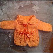 Куклы и игрушки ручной работы. Ярмарка Мастеров - ручная работа Стильный жакет для интерьерной куклы. Handmade.