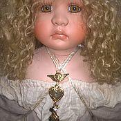 Портретная кукла ручной работы. Ярмарка Мастеров - ручная работа Портретная кукла: Ангел Рождества Мишель. Handmade.