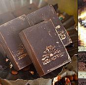 """Косметика ручной работы. Ярмарка Мастеров - ручная работа Натуральное мыло """"Patchouli & Chocolate"""" с тертым какао. Handmade."""