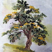 Фен-шуй и эзотерика ручной работы. Ярмарка Мастеров - ручная работа картина Большое Денежное дерево. Handmade.