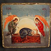 Картины и панно handmade. Livemaster - original item Icon in the nursery