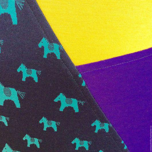 """Платья ручной работы. Ярмарка Мастеров - ручная работа. Купить Платье """"Джерси. Ассиметрия-1"""". Handmade. Тёмно-синий, джерси"""