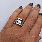 Украшения handmade. Livemaster - original item Crown Ring. Silver 925 sample. Handmade.
