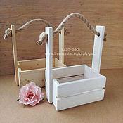 Цветы и флористика ручной работы. Ярмарка Мастеров - ручная работа Ящик для цветов # 33. Handmade.
