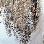 Аксессуары handmade. Livemaster - original item Shawl knitted