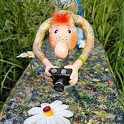 Куклы и игрушки ручной работы. Ярмарка Мастеров - ручная работа Гоша и божья коровка:). Handmade.