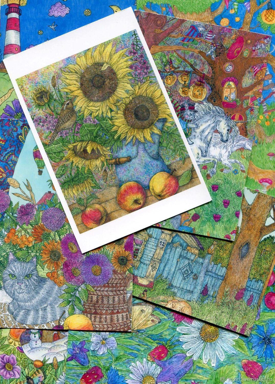 Открытки, родной край открытки для посткроссинга