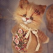 Куклы и игрушки handmade. Livemaster - original item Embroidered coat
