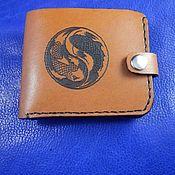 Сумки и аксессуары handmade. Livemaster - original item Women`s wallet leather Koi. Handmade.
