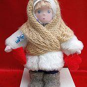 Куклы и игрушки ручной работы. Ярмарка Мастеров - ручная работа текстильная кукла Ната. Handmade.