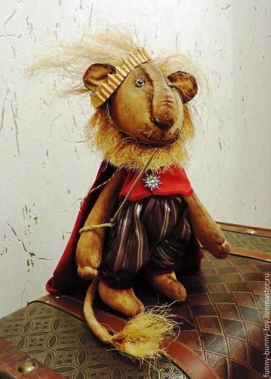 Коллекционные куклы ручной работы. Ярмарка Мастеров - ручная работа. Купить Царь зверей. Handmade. Комбинированный, кукла ручной работы
