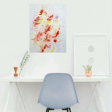 """Картины и панно ручной работы. Ярмарка Мастеров - ручная работа """"Весенние фантазии: тюльпаны"""", 30х40см, холст на подрамнике. Handmade."""