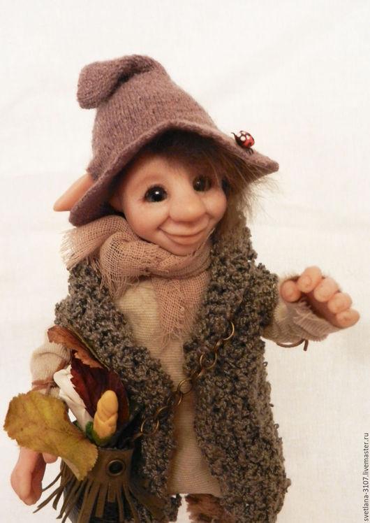 Коллекционные куклы ручной работы. Ярмарка Мастеров - ручная работа. Купить Эльф Патрик. Handmade. Эльф, лесной житель