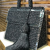 Сумки и аксессуары handmade. Livemaster - original item Bag hook with transparent bottom. Handmade.