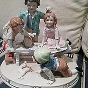 Статуэтки ручной работы. Ярмарка Мастеров - ручная работа Играющие дети. Handmade.