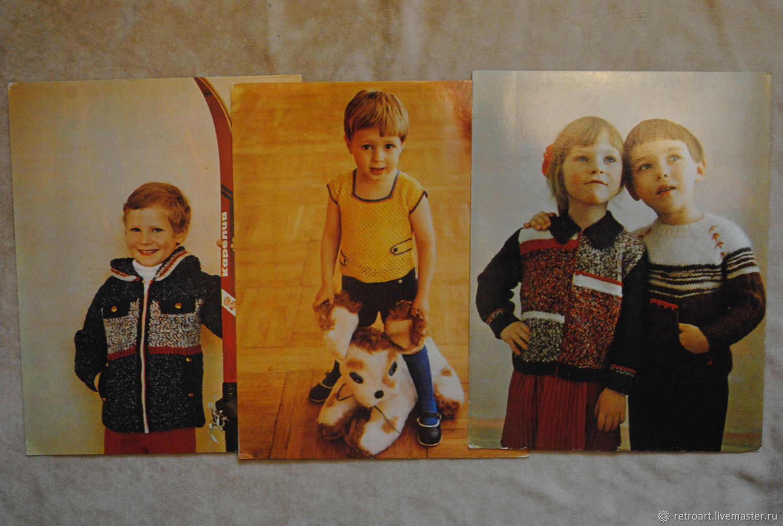 Набор открыток по вязанию свяжите детям, полгодиком девочку
