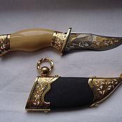 Модели ручной работы. Ярмарка Мастеров - ручная работа Нож-мини ручной работы с тигром. Handmade.
