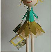 Куклы и игрушки ручной работы. Ярмарка Мастеров - ручная работа Кукла Солнышко. Handmade.