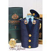 Подарки к праздникам handmade. Livemaster - original item Major FSO, a copy of the jacket, the gift officer. Handmade.