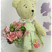 Куклы и игрушки ручной работы. Ярмарка Мастеров - ручная работа Тедди девочка  Лина. Handmade.
