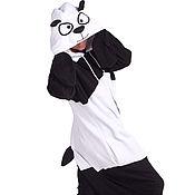 Одежда handmade. Livemaster - original item Costume kigurumi Panda FUNKY PANDA KIGU. Handmade.