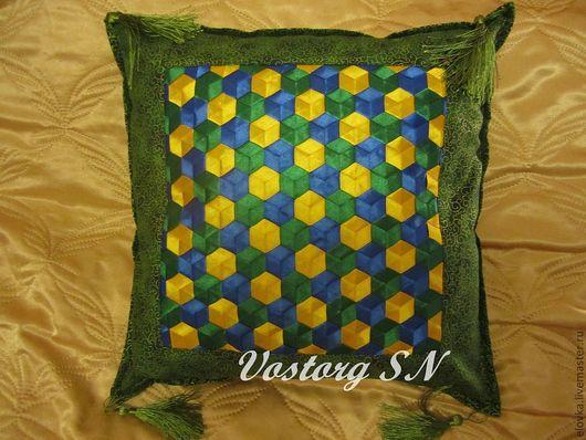 Текстиль, ковры ручной работы. Ярмарка Мастеров - ручная работа. Купить Нарядные подушки. Handmade. Подушка декоративная, диванная подушка