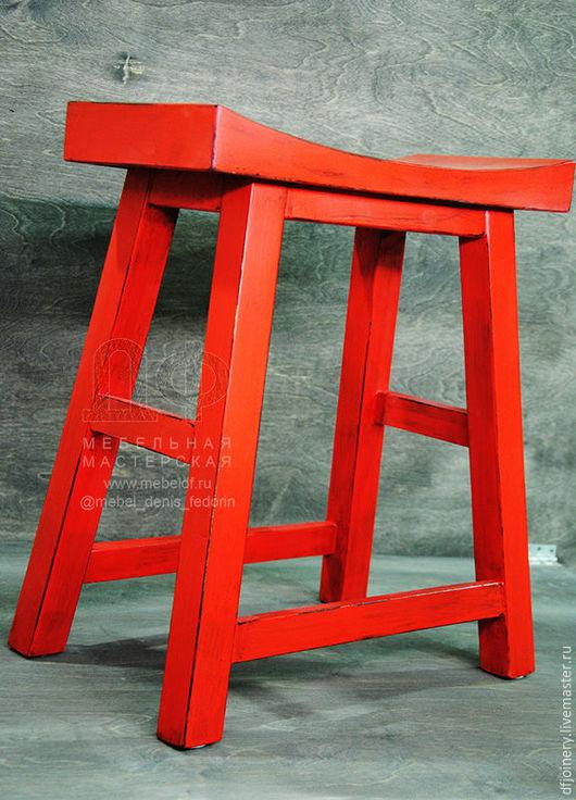 Мебель ручной работы. Ярмарка Мастеров - ручная работа. Купить Табурет из дерева «Китай». Handmade. Ручная работа handmade, для гостиной
