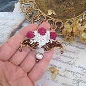 """Украшения ручной работы. Ярмарка Мастеров - ручная работа Брошь""""Bouquet"""". Handmade."""