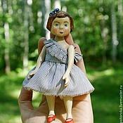 Куклы и игрушки ручной работы. Ярмарка Мастеров - ручная работа Деревянная кукла малышка Таисия. Handmade.