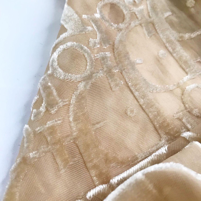 Бежевый платок люкс из панбархата, Платки, Санкт-Петербург,  Фото №1