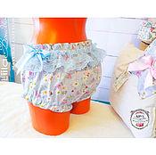 Одежда ручной работы. Ярмарка Мастеров - ручная работа Панталончики Мальвина с кружевом. Handmade.