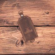 Сумки и аксессуары handmade. Livemaster - original item Key holder, genuine leather Singapore. Handmade.