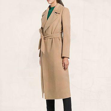 Одежда ручной работы. Ярмарка Мастеров - ручная работа Теплое женское демисезонное пальто на осень, весну. Подойдет на каждый. Handmade.