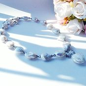 Украшения handmade. Livemaster - original item Pearl necklace