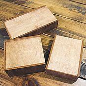 Сувениры и подарки handmade. Livemaster - original item Plywood boxes for our products. Handmade.