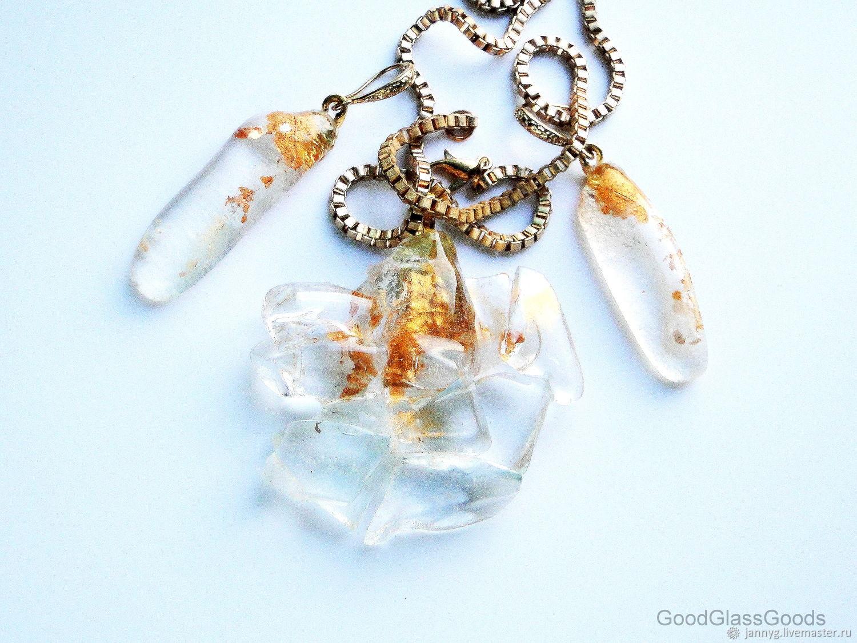 Pendant and earrings 'Holy water', Pendants, Almaty,  Фото №1