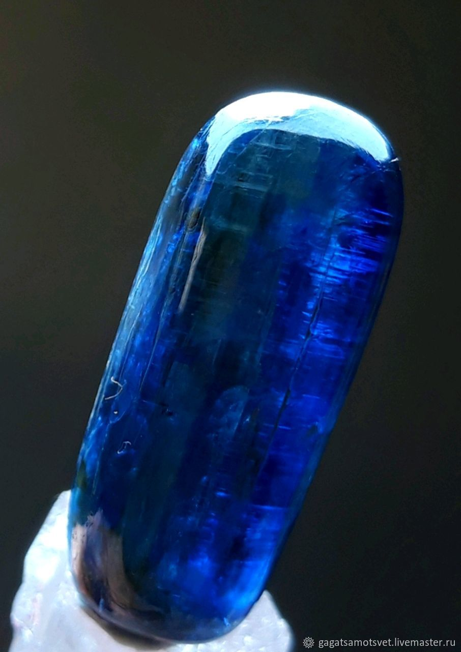 Kyanite( Distin) blue transparent Galloway ( Nepal), Cabochons, St. Petersburg,  Фото №1