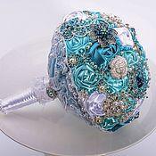 Свадебный салон handmade. Livemaster - original item Brooch Bouquet, Lucy.