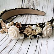 Украшения handmade. Livemaster - original item The headband in the style of Dolce & Gabbana. Family look. Handmade.