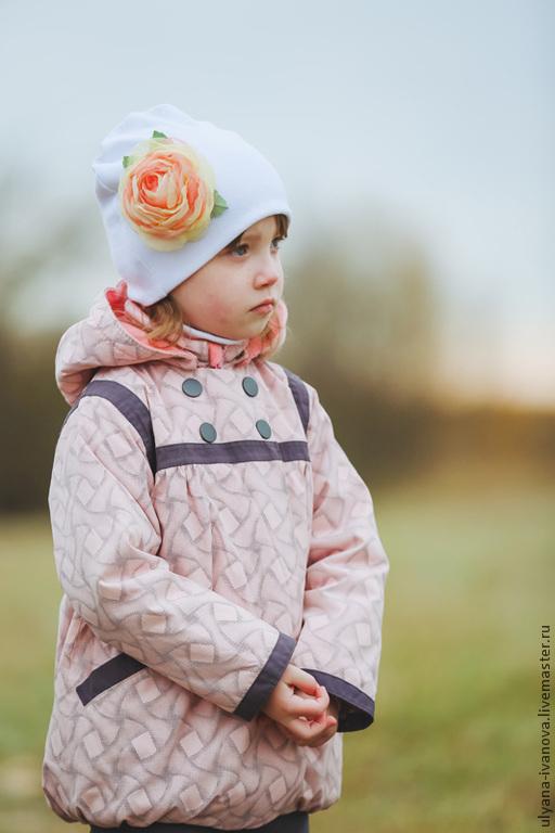 Одежда для девочек, ручной работы. Ярмарка Мастеров - ручная работа. Купить Мембранный комплект с подстежками Зефирка. Handmade. Бледно-розовый